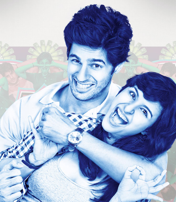Parineeti Chopra and Siddharth Malhotra in Hasee Toh Phasee