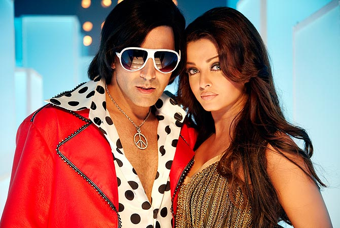 Akshay Kumar and Aishwarya Rai in Action Replayy
