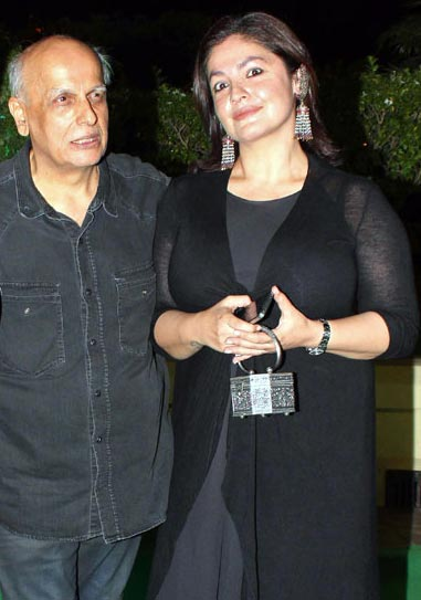 Mahesh and Pooja Bhatt