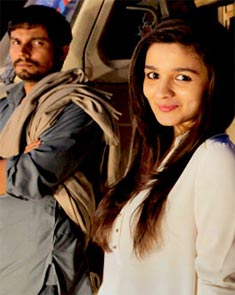 Randeep Hooda and Alia Bhatt in Highway