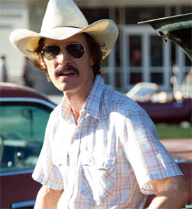 Matthew McConaughey in Dallas Buyers' Club