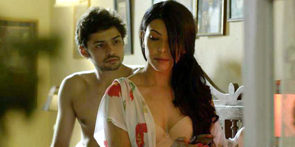 Shadab Kamal and Shilpa Shukla in BA Pass