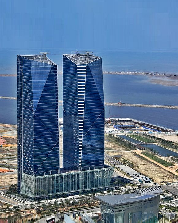 Songdo International Business District, South Korea.