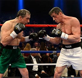 Robert De Niro and Sylvester Stallone in Grudge Match