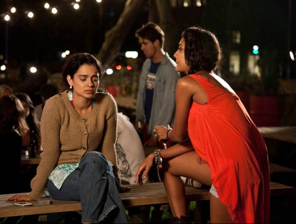 Kangna Ranaut and Lisa Haydon in Queen