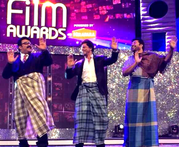 Mohanlal, Shah Rukh Khan and Mammootty