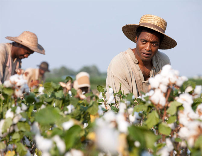 Chiwitel Ejiofor in 12 Years a Slave