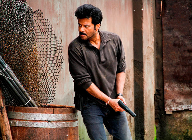 Anil Kapoor in 24, the television serial her produced.