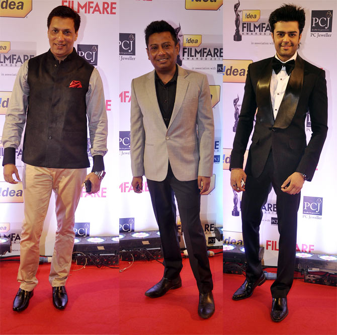 Madhur Bhandarkar, Onir and Manish Paul