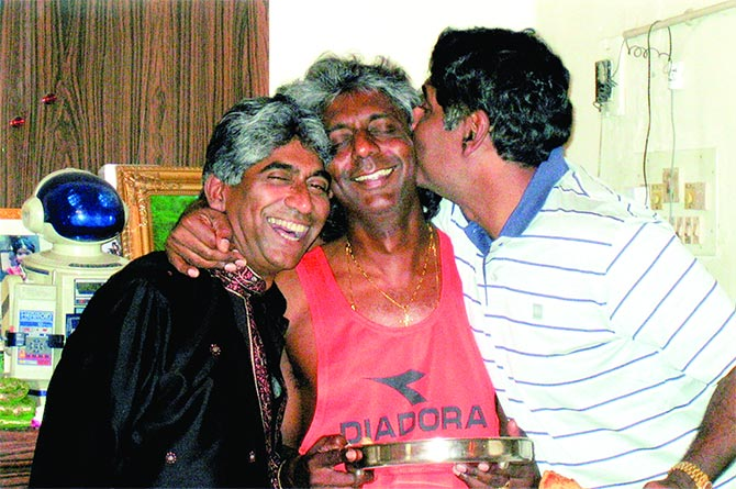 Ashok, Anand and Vijay Amritraj