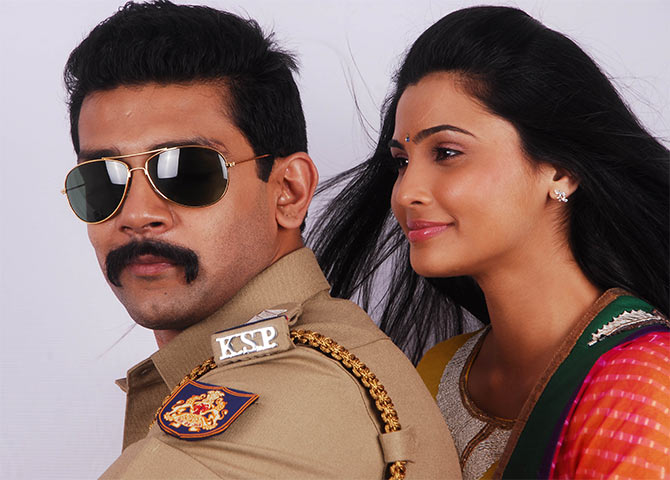 A still from Aakramana