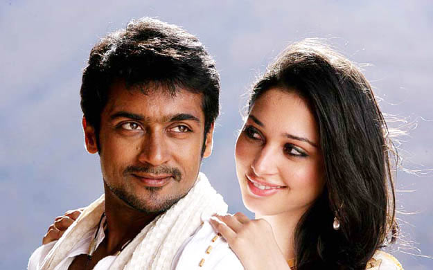 Suriya and Tamannah in Ayan