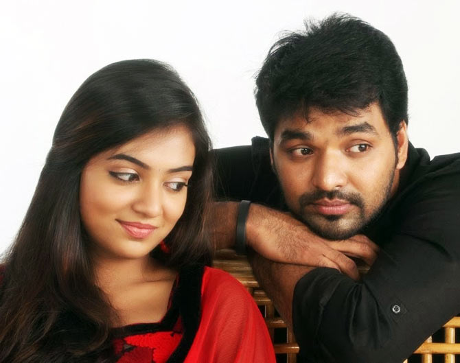 Jai and Nazriya in Thirumanam Ennum Nikkah
