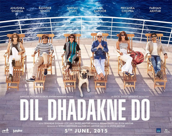 Movie poster of Dil Dhadakne Do