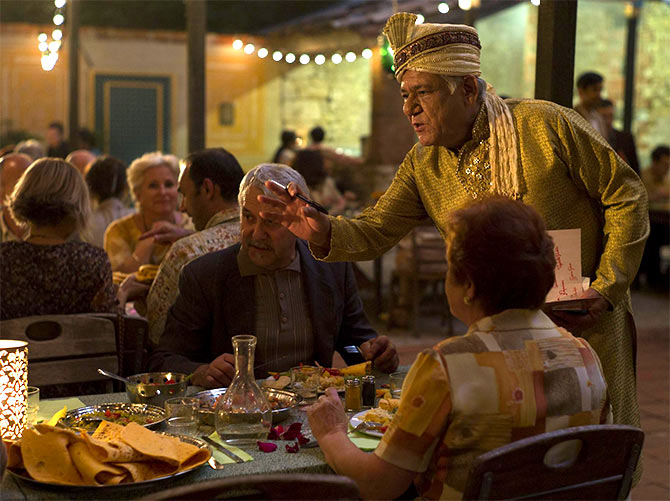 Om Puri as Papa in The Hundred-Foot Journey: Will the role win him an Oscar?