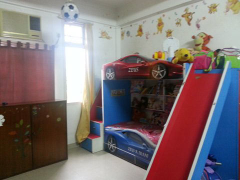 The kids' room