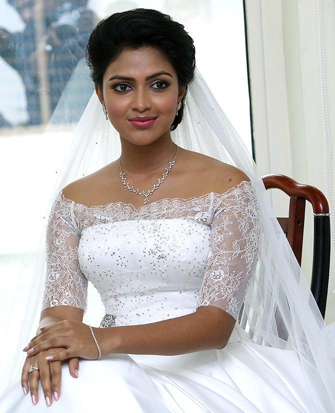 Kerala Marriage Bride Hair: PIX: Amala Paul Gets Engaged