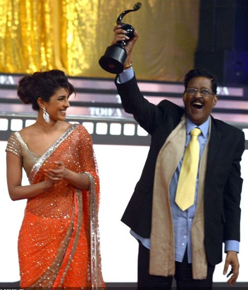 Priyanka Chopra with father Dr Ashok Chopra