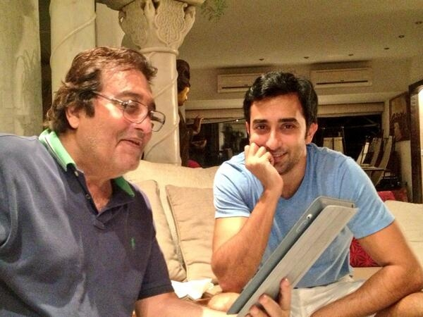 Rahul Khanna with father Vinod Khanna
