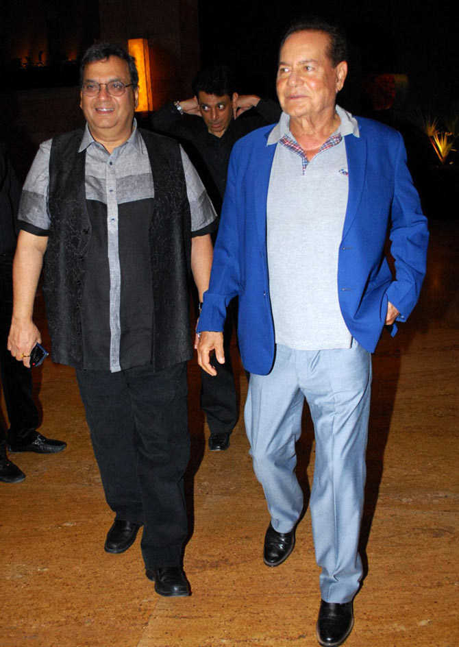 Subhash Ghai and Salim Khan