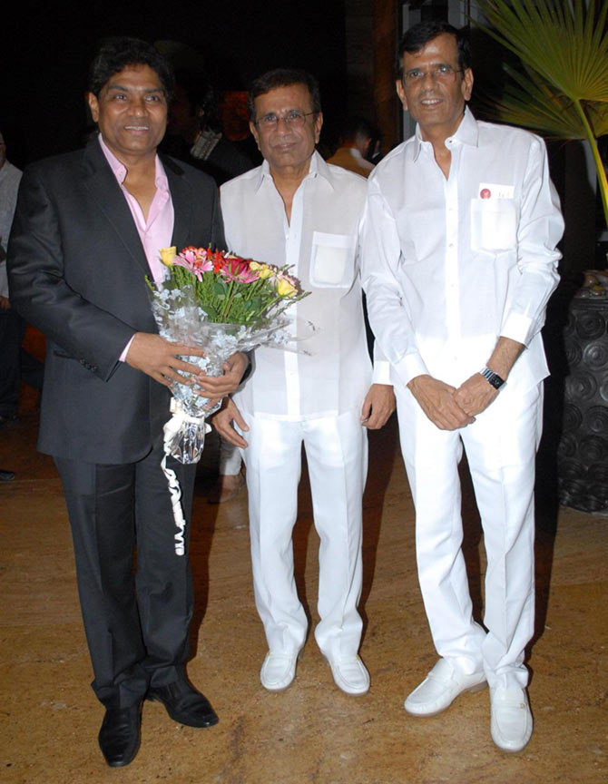 Johnny Lever and Abbas-Mustan