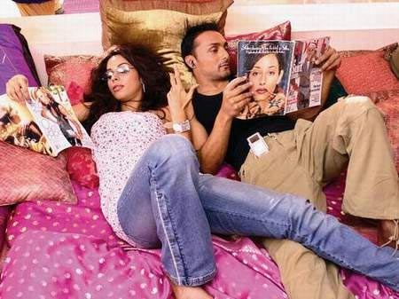 Mallika Sherawat and Rahul Bose in Pyaar Ke Side Effects