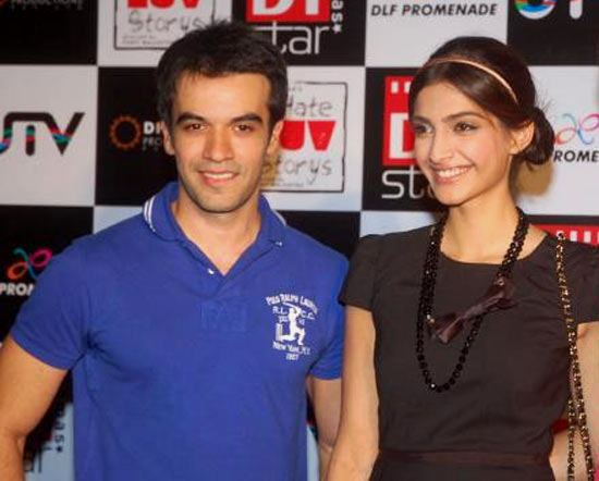 Sonam Kapoor with Punit Malhotra