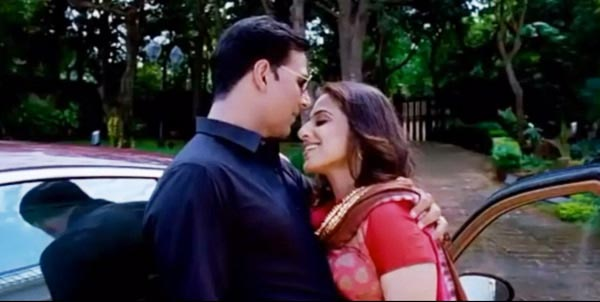 Vidya Balan and Akshay Kumar in Thank You