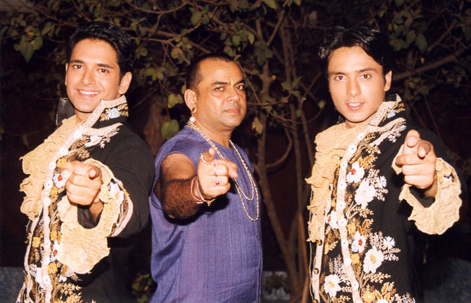 Anuj Sawhney, Paresh Rawal and Iqbal Khan in Fun2shh... Dudes in the 10th Century