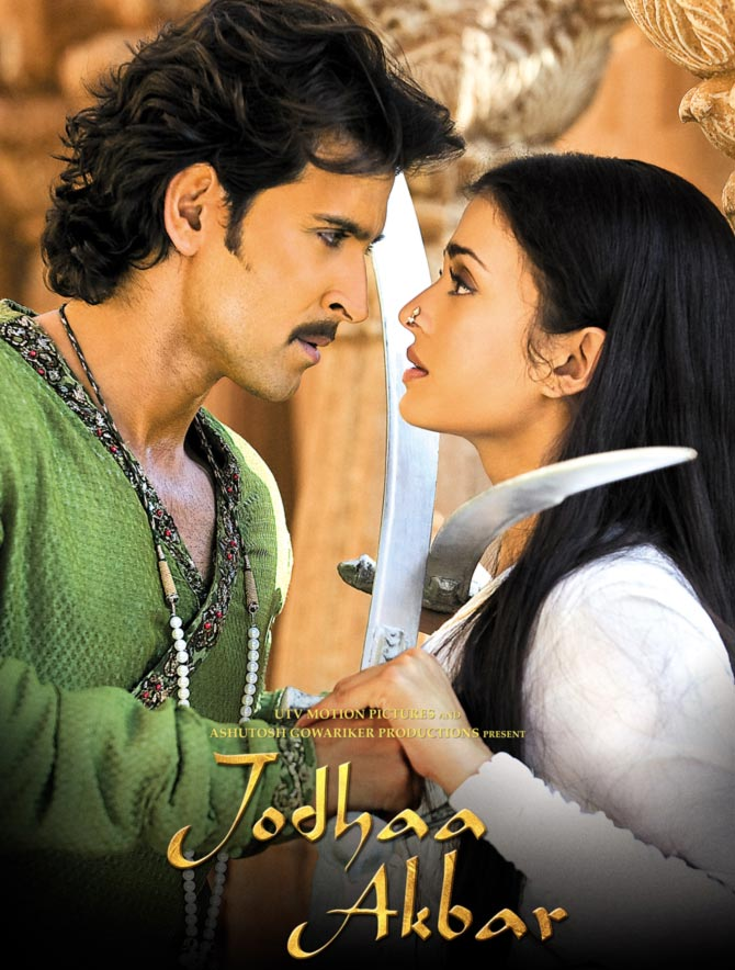 The Jodhaa Akbar poster