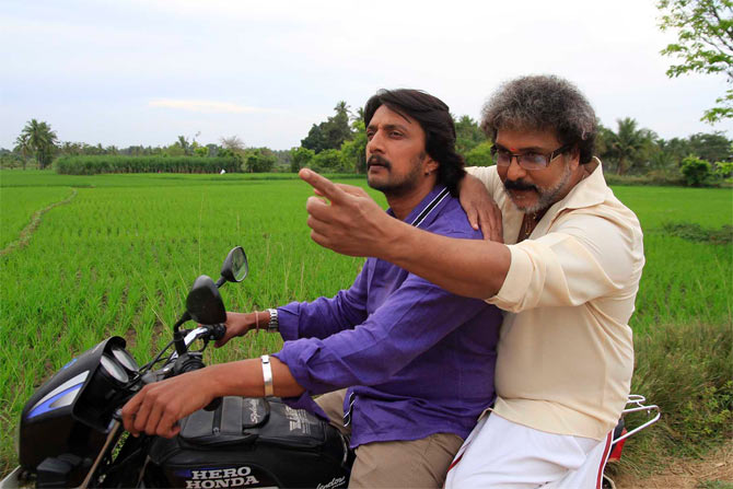 Sudeep and Ravichandran