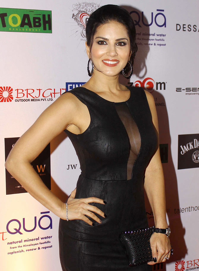 Birthday Special Fashion Lessons From Sunny Leone - Rediffcom Movies-5333
