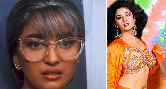 Madhuri Dixit in Dil Tera Aashiq and Beta