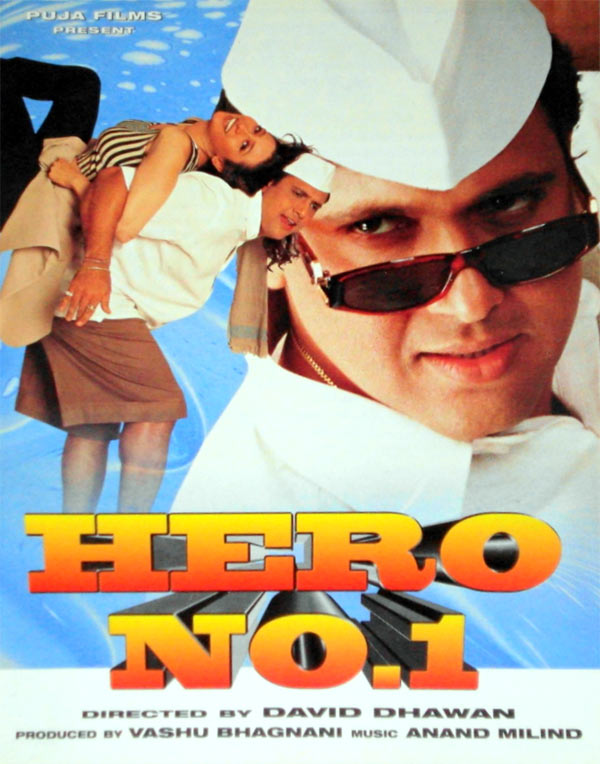 Movie poster of Hero No1