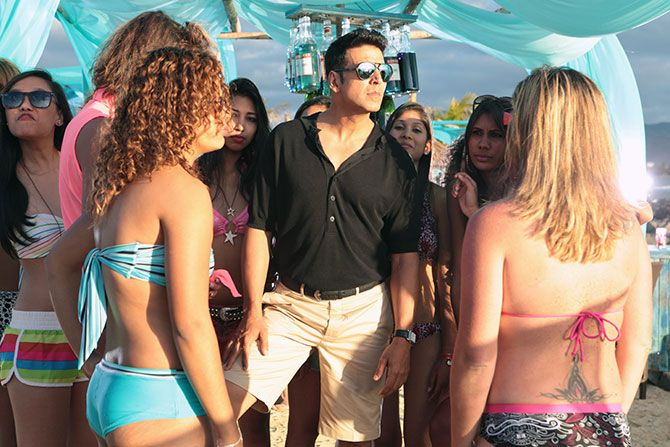 Akshay Kumar in The Shaukeens