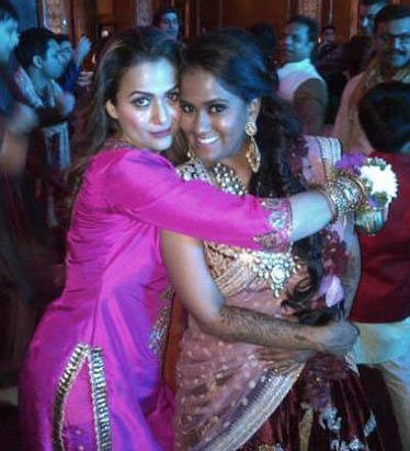 Amrita Arora and Arpita Khan