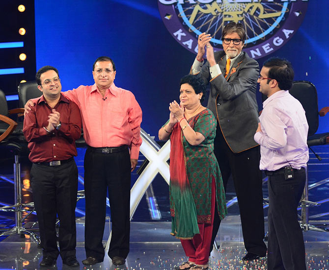 No one can believe we've won Rs 7 crore on KBC!' - Rediff com movies