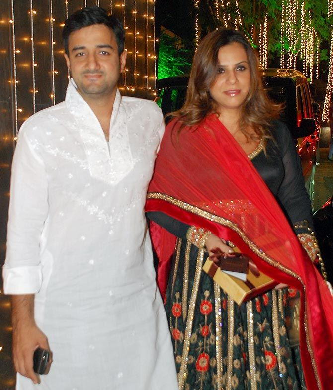 Siddharth Annad and his wife