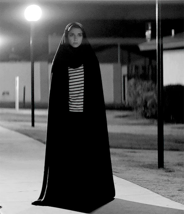 A scene from A Girl Walks Home Alone At Night
