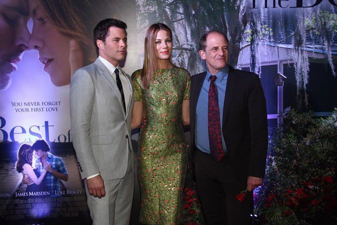 James Marsden, Michelle Monaghan and Michael Hoffman.