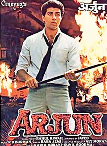 Sunny Deol on the poster of Arjun