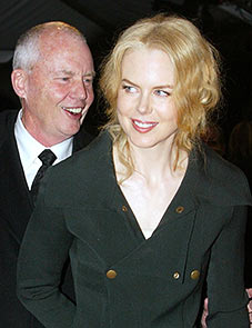 Antony Kidman along with daughter Nicole