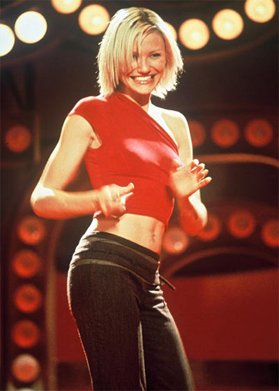 Cameron Diaz in Charlie's Angels