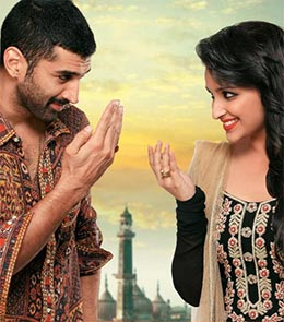 Aditya Roy Kapoor and Parineeti Chopra in Daawat-E-Ishq
