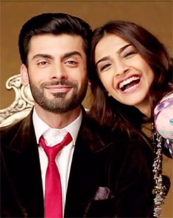 Fawad Khan and Sonam Kapoor in Khoobsurat