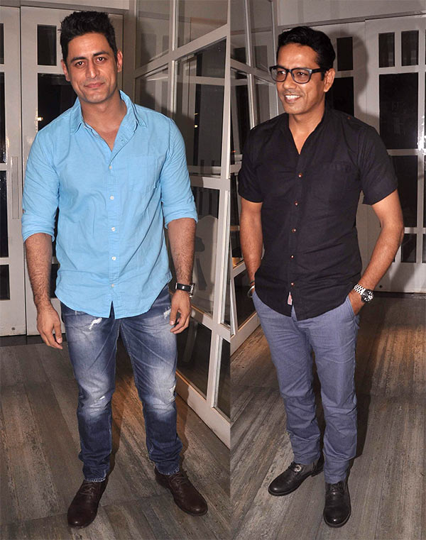 Mohit Raina and Anup Soni