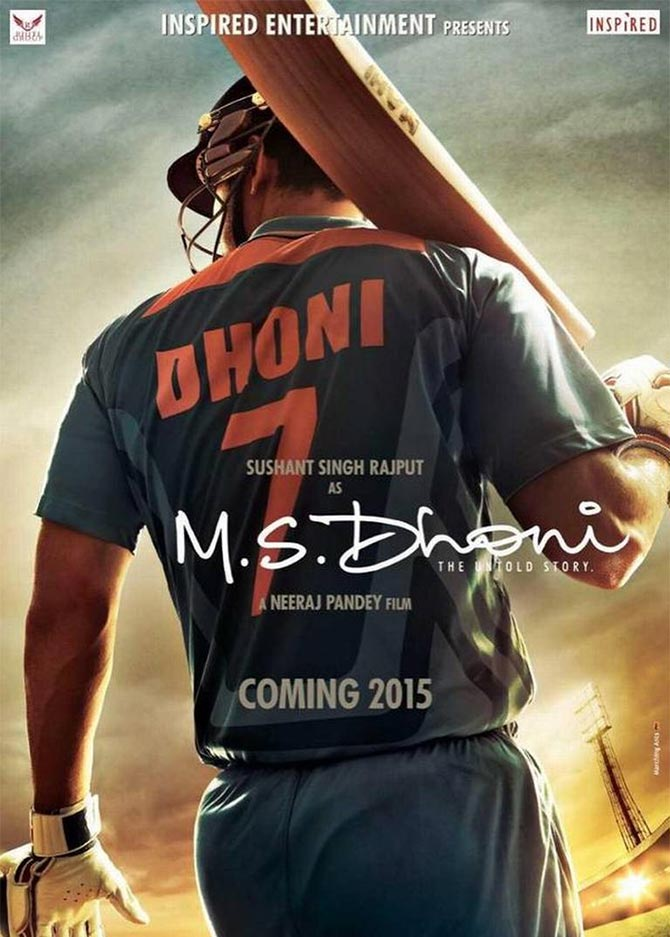 Movie poster of M.S.Dhoni