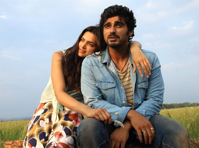 Deepika and Arjun Kapoor in Finding Fanny