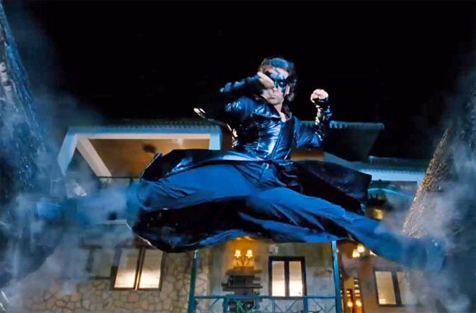 Hrithik Rosha in Krrish