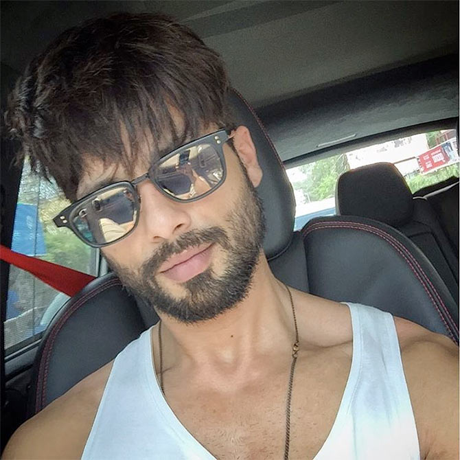 Want To See Shahid S Starry Lifestyle Click Here Rediff Com Movies